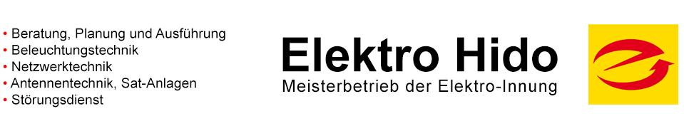 Elektriker Hido Meisterbetrieb in Puchheim